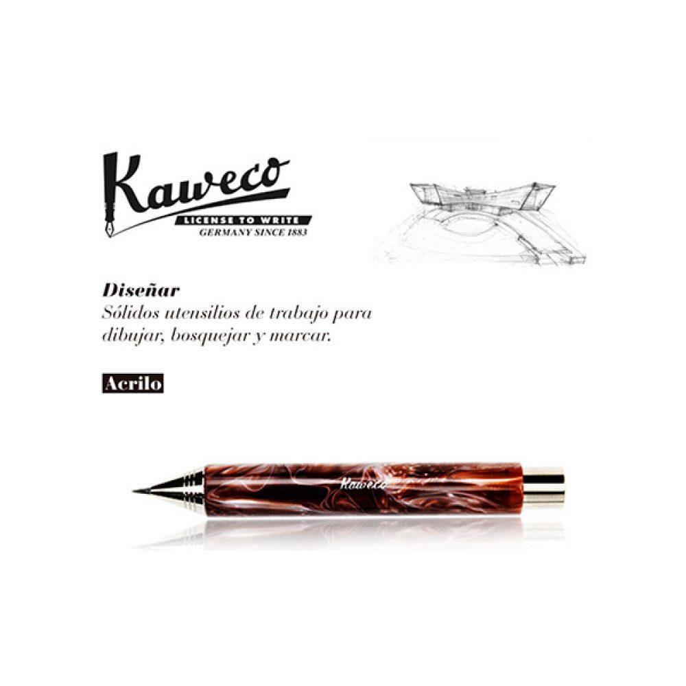 Portaminas Kaweco Acrilico Marrón Jaspeado 5,6mm