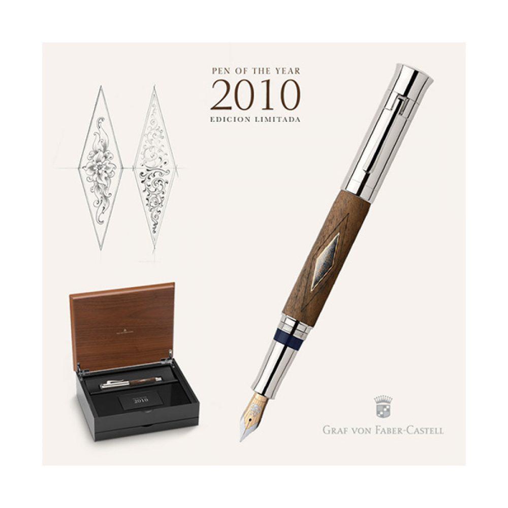Lapicera de Pluma GRAF VON FABER CASTELL - Pen Of The Year 2010 - Edición Limitada