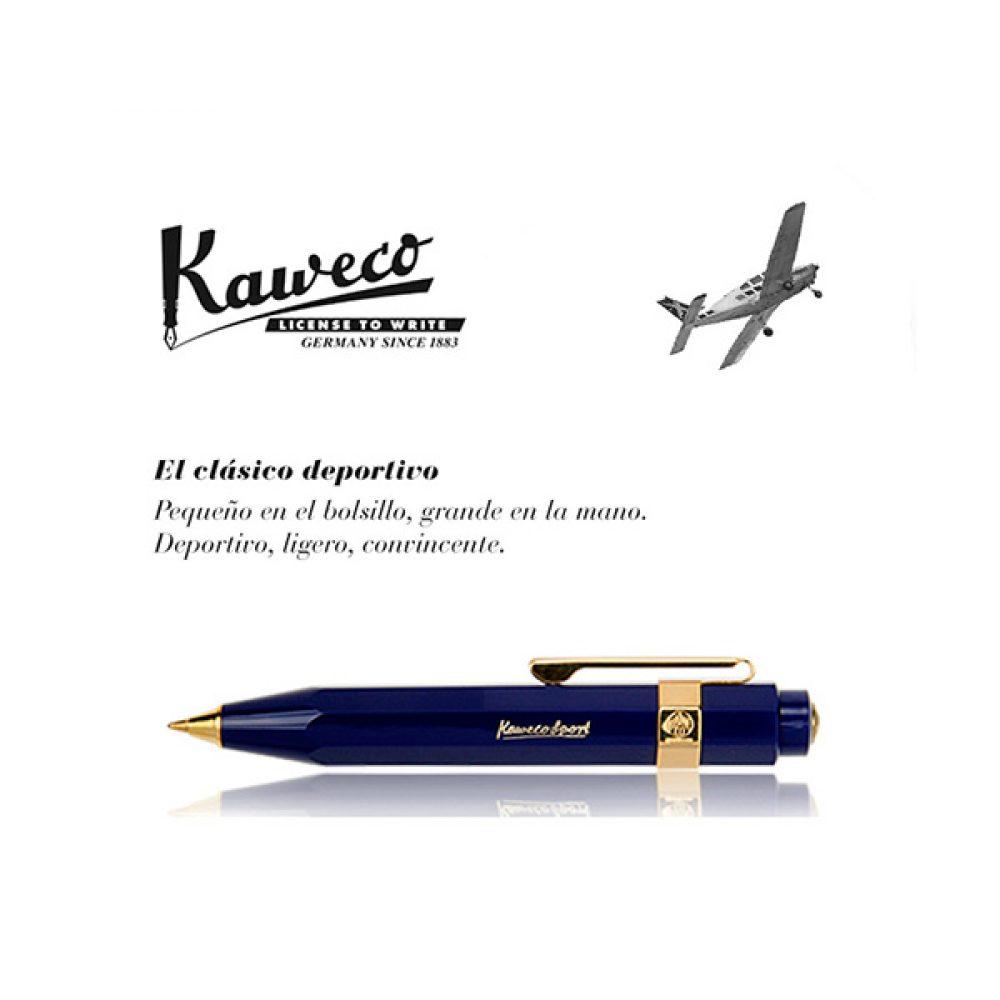 Bolígrafo Kaweco Classic Sport Azul