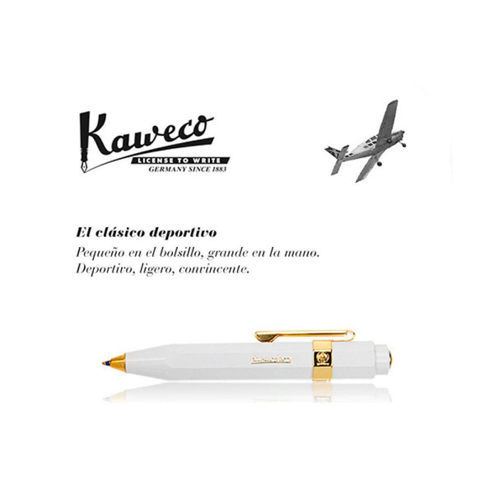 Bolígrafo Kaweco Classic Sport Blanco