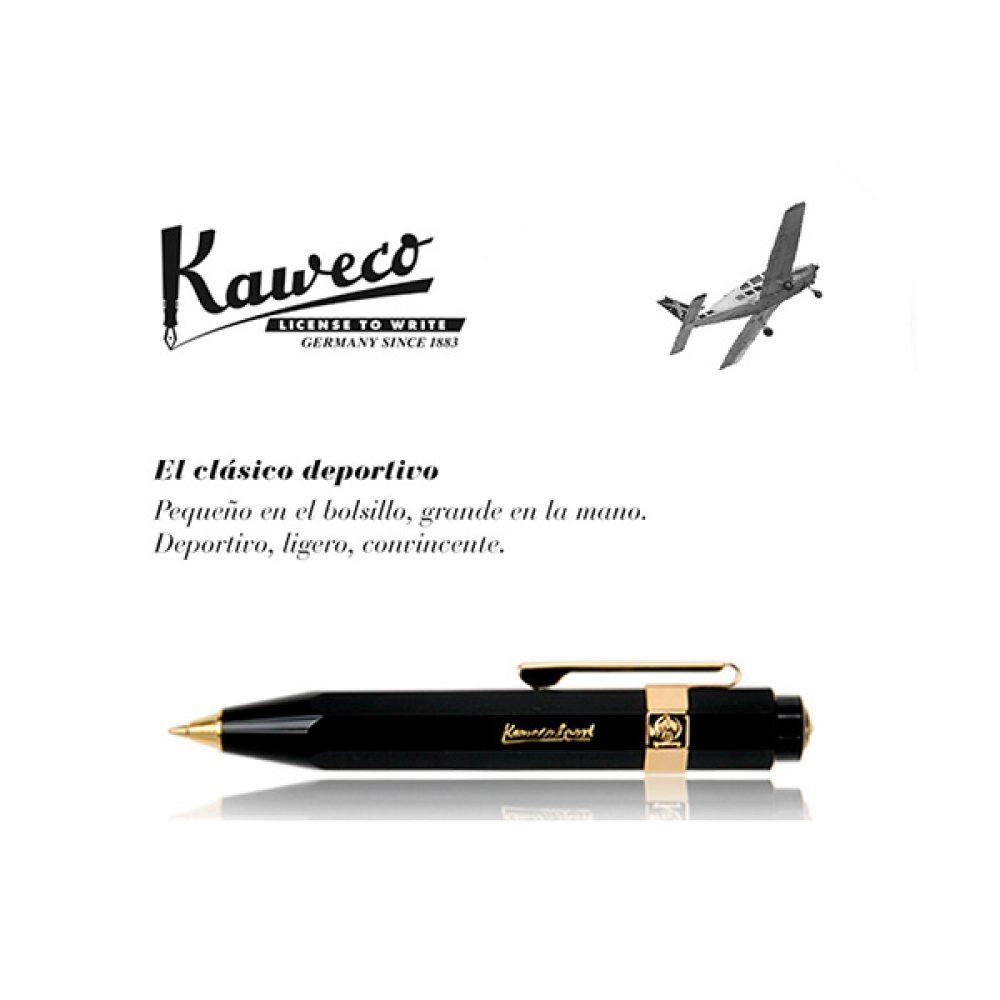 Bolígrafo Kaweco Classic Sport Negro