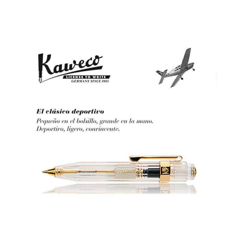 Bolígrafo Kaweco Classic Sport Transparente