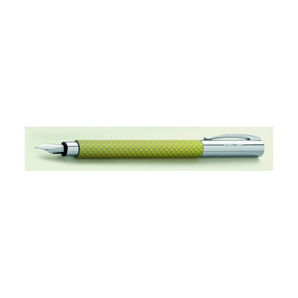Lapicera Fuente FABER CASTELL AMBITION Curry