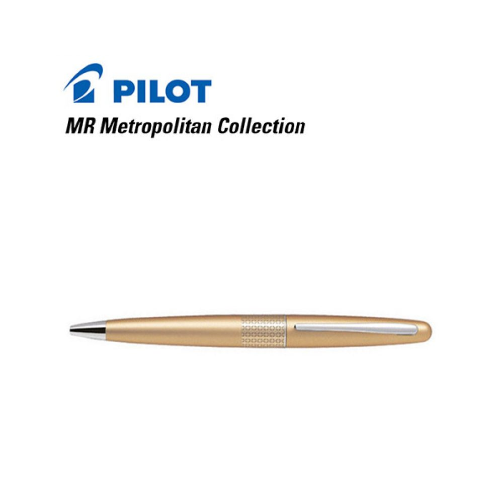 Bolígrafo Pilot MR Metropolitan Collection Dorado (Sin estuche)
