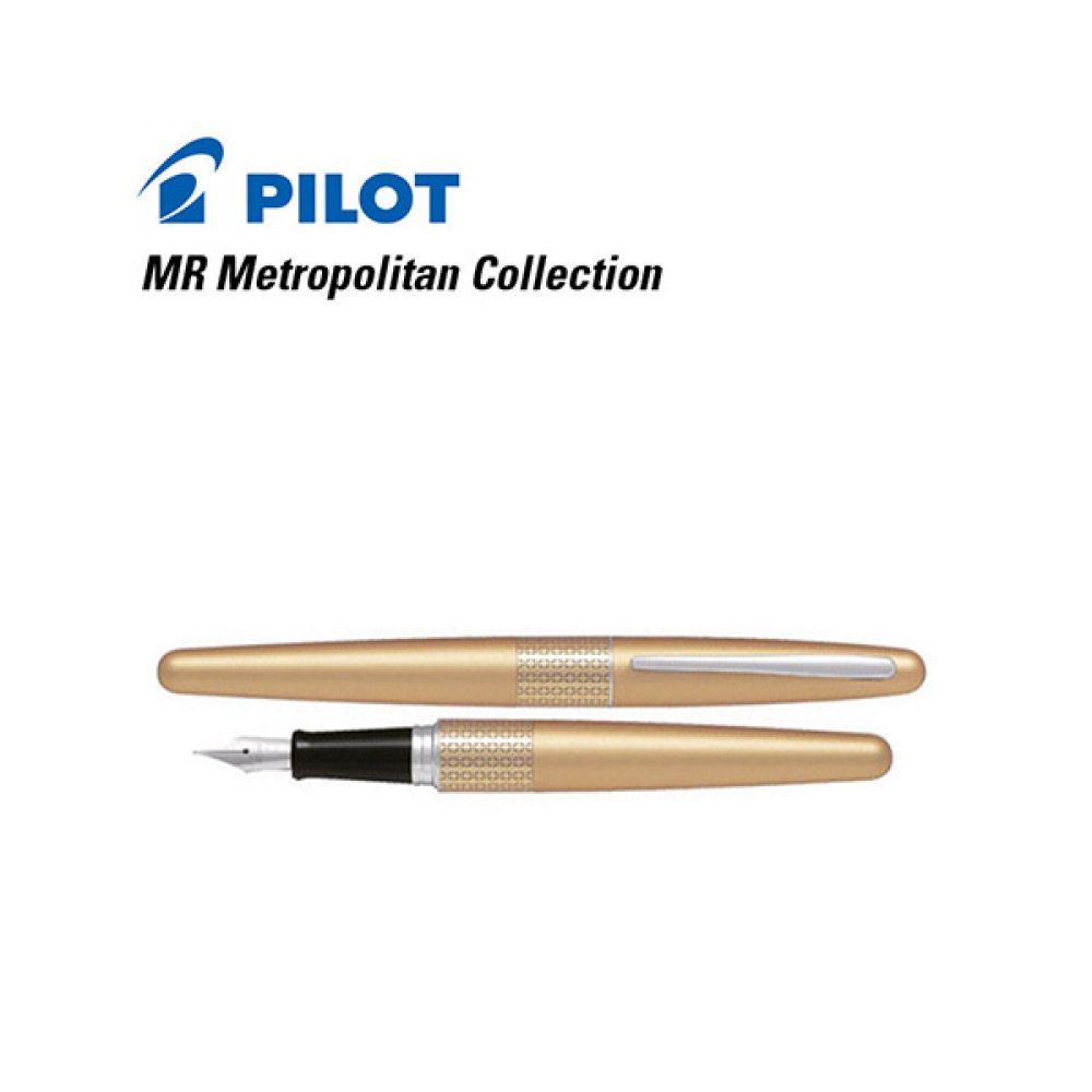 Lapicera Pilot MR Metropolitan Collection Dorado (Sin estuche)