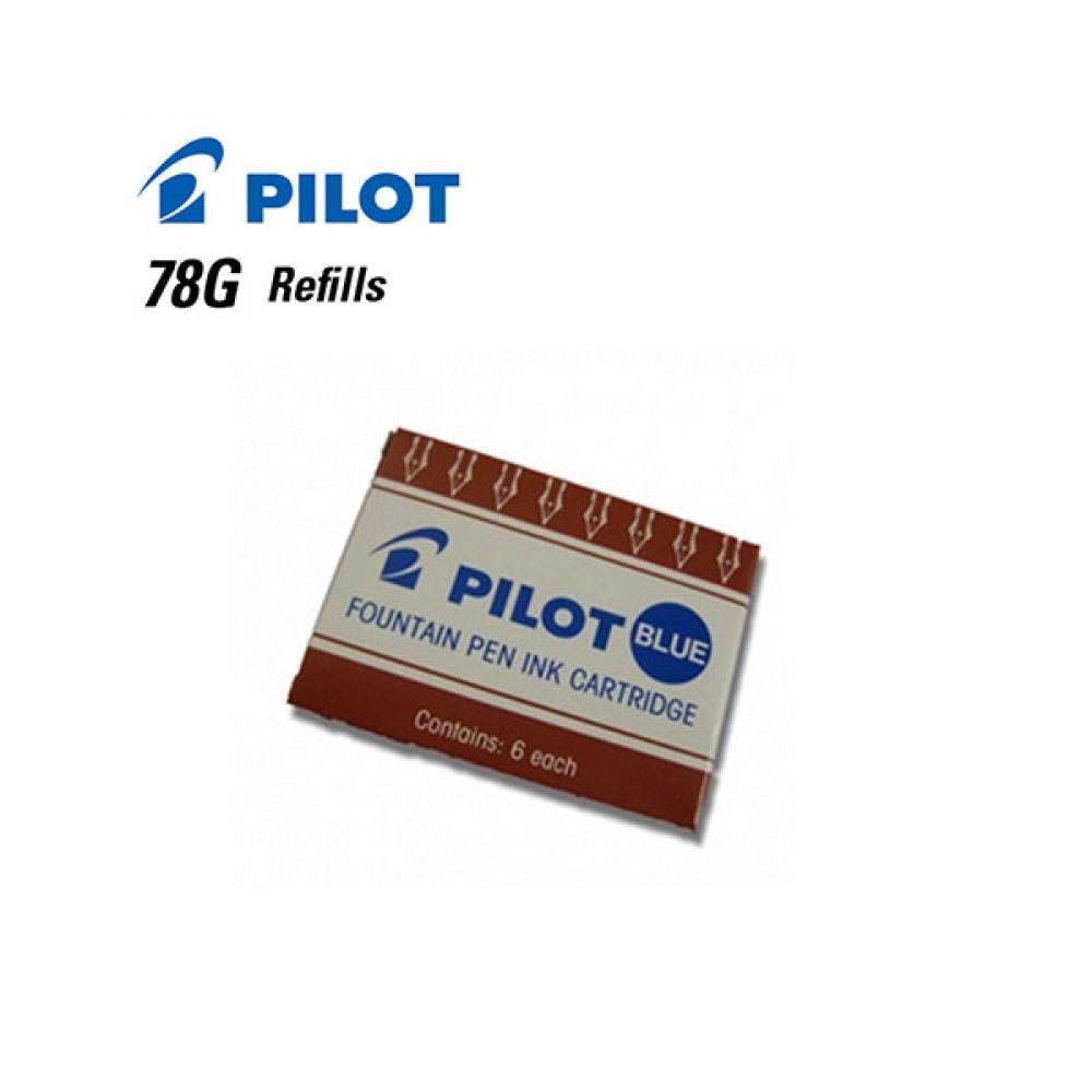 Cartucho Pilot Para Lapiceras 78G Azul