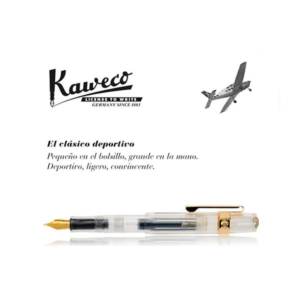 Lapicera Kaweco Classic Sport Transparente