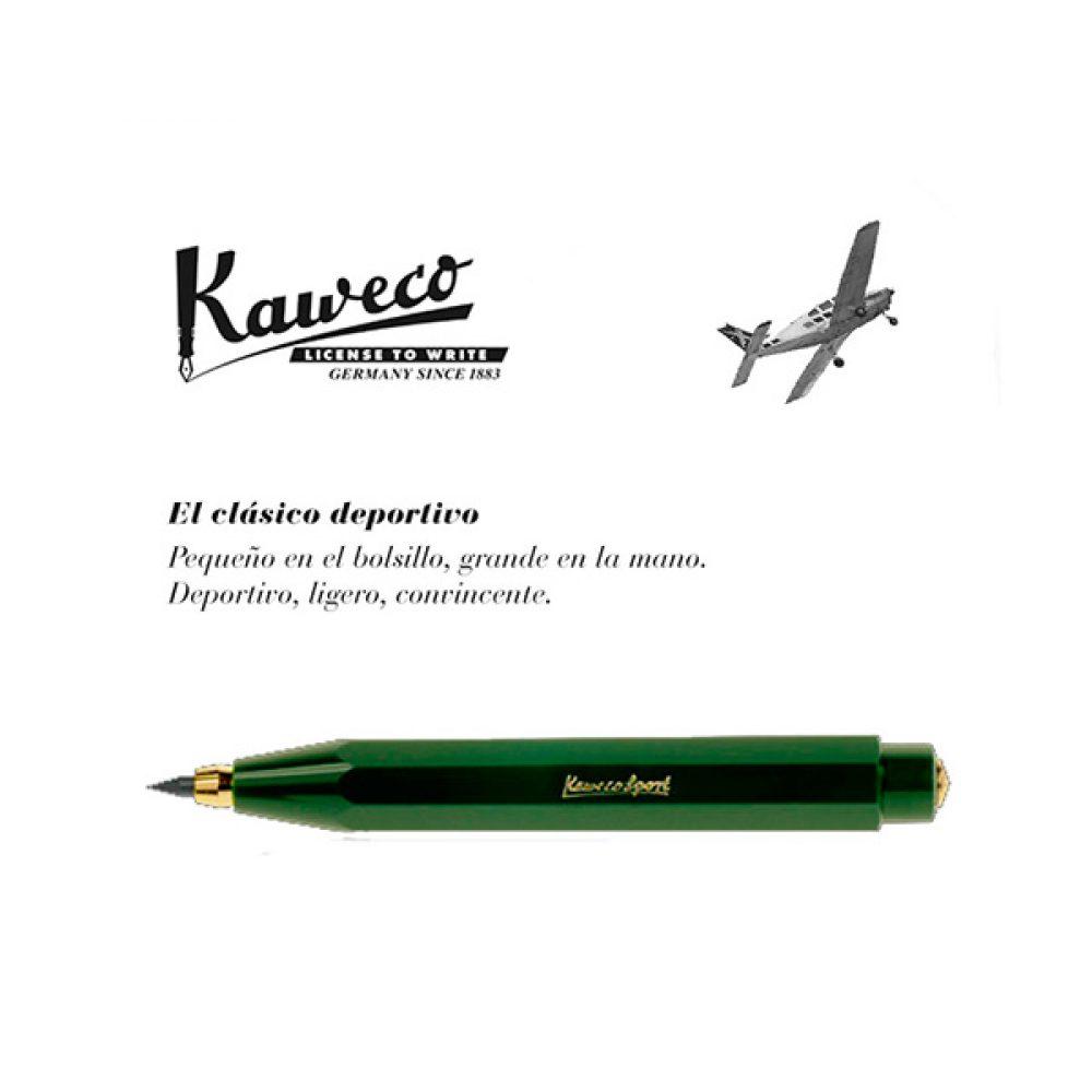 Portaminas Kaweco Classic Sport Verde
